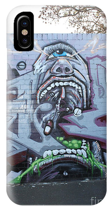Drugs Mate IPhone X Case featuring the photograph Drugs Mate Drugs by Corin Stone