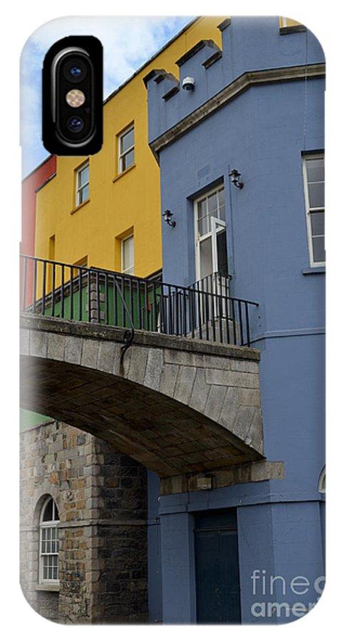 Bridge IPhone X Case featuring the digital art Dublin Castle In Dublin Ireland by Eva Kaufman