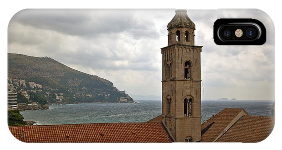 Dubrovnik IPhone X / XS Case featuring the photograph Dubrovnik View 3 by Madeline Ellis