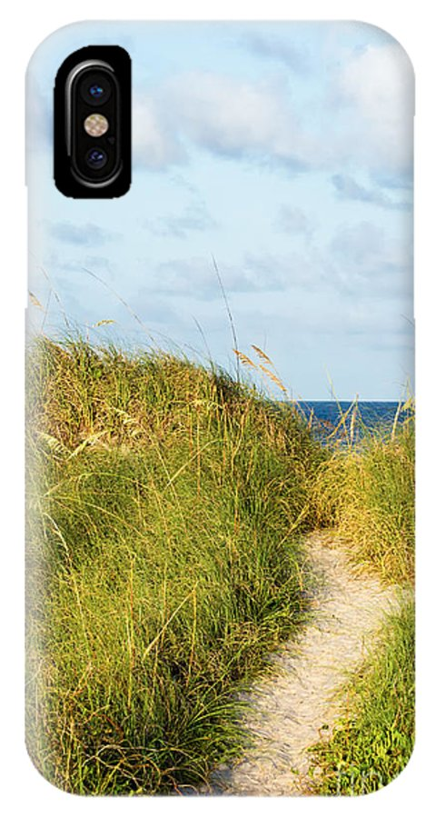 Amelia Island IPhone X Case featuring the photograph Dune Trail by Dawna Moore Photography