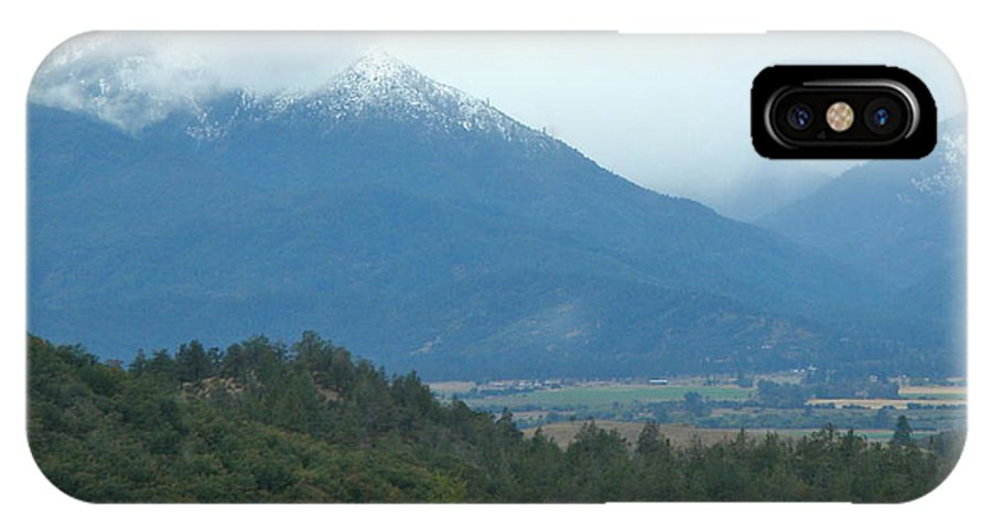 IPhone X Case featuring the photograph Early Snow by William McCoy