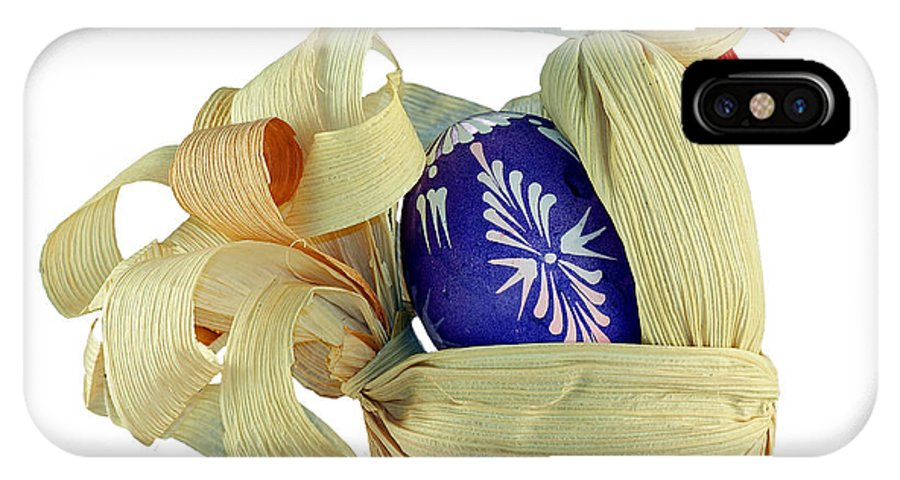 Easter IPhone X Case featuring the photograph Easter Pullet by Michal Boubin