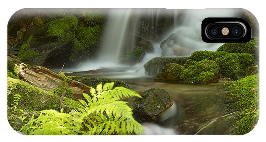 Idaho IPhone X Case featuring the photograph Eden by Idaho Scenic Images Linda Lantzy