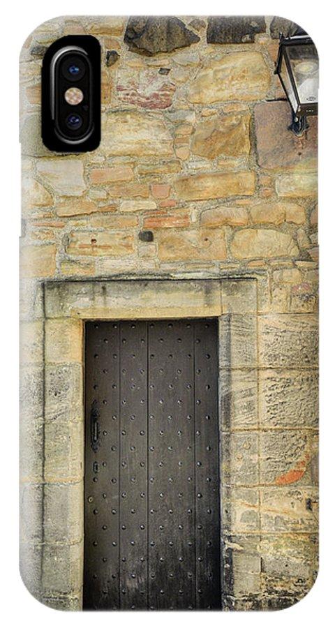 Edinburgh IPhone X Case featuring the photograph Edinburgh Castle by Ray Devlin