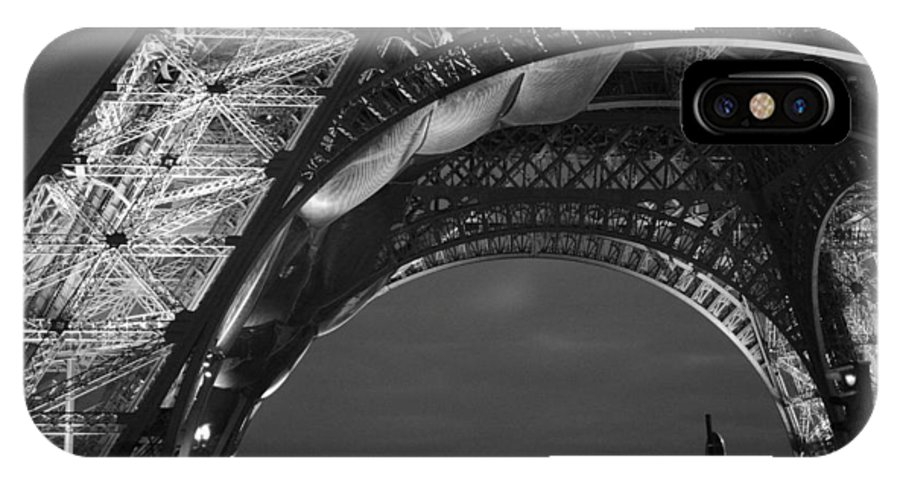 Eiffel Tower IPhone X Case featuring the photograph Eiffel Tower by Pamela Corey