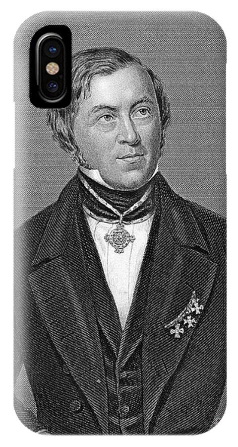 19th Century IPhone X Case featuring the photograph Eilhardt Mitscherlich by Granger