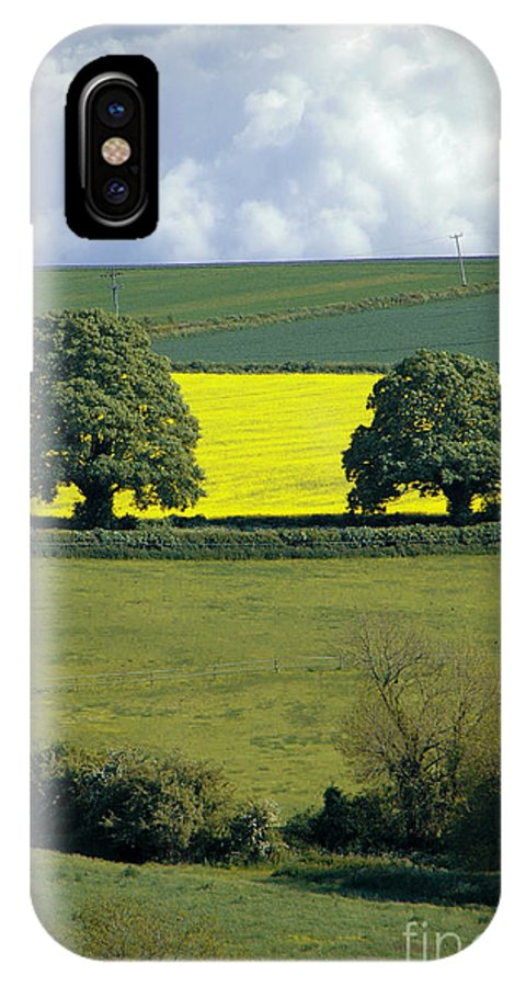 England IPhone X Case featuring the photograph The Cotswolds 2 by Mike Nellums
