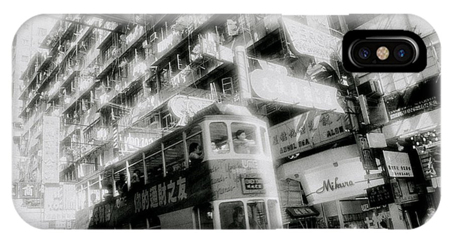 Asia IPhone X Case featuring the photograph Ethereal Hong Kong by Shaun Higson