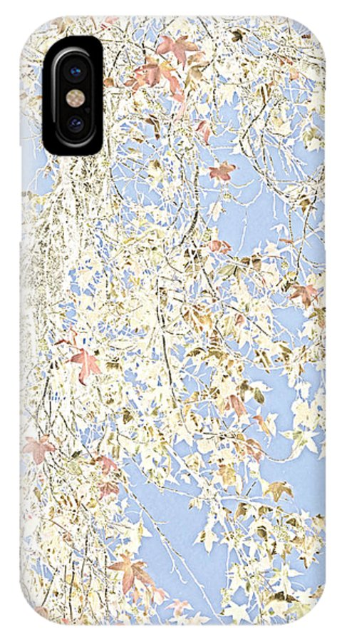 Tree Art IPhone X Case featuring the photograph Ever Changing by Bonnie Bruno