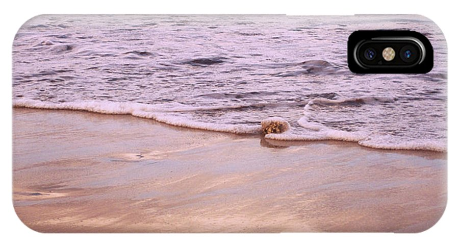 Sea IPhone X Case featuring the photograph Ever So Gentle by Marilyn Wilson