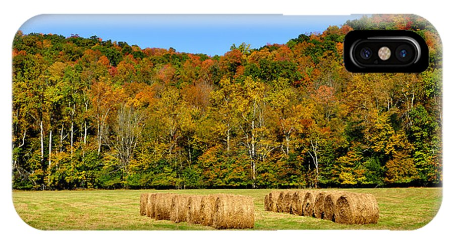 Fall Color IPhone X / XS Case featuring the photograph Fall Color Randolph County West Virginia by Thomas R Fletcher