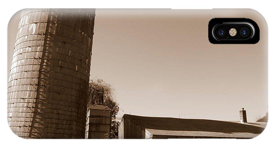 Farm IPhone X / XS Case featuring the photograph Farm In History by Kim Galluzzo Wozniak
