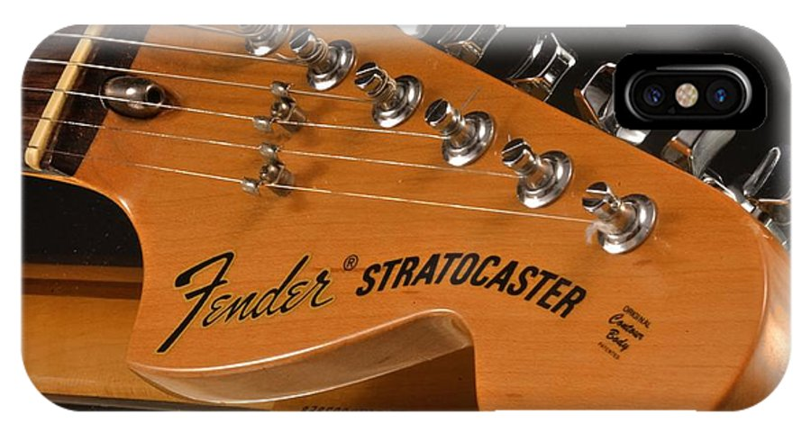 Fender Stratocaster Headstock IPhone X Case