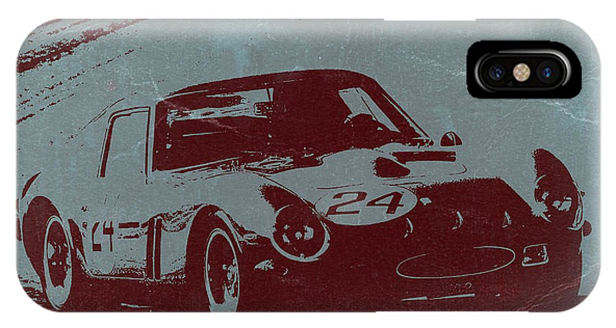 Ferrari Gto IPhone X Case featuring the photograph Ferrari Gto by Naxart Studio