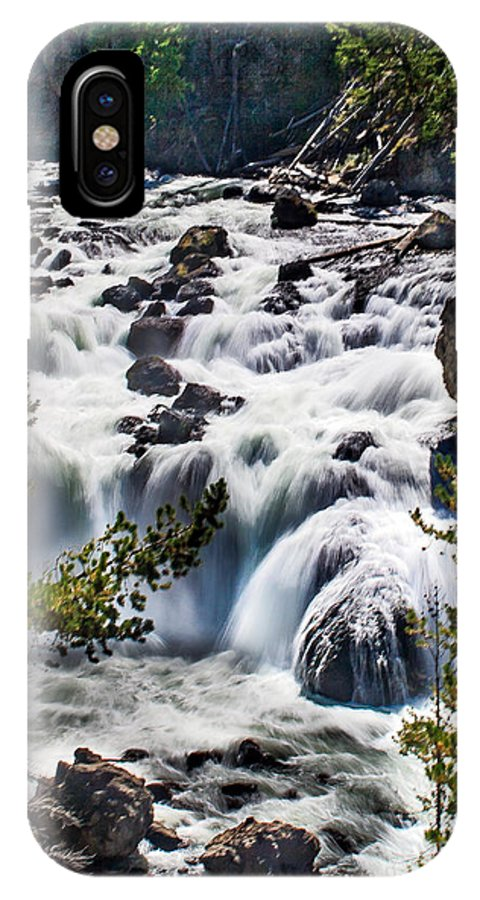 Scenic IPhone X Case featuring the photograph Firehole River IIi by Robert Bales