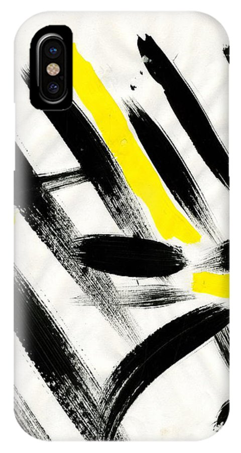 Flash IPhone X Case featuring the painting Flash by Taylor Webb