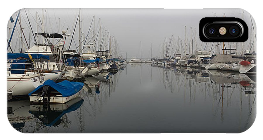 Art IPhone X Case featuring the photograph Foggy Morn by Heidi Smith