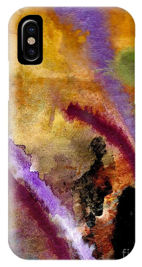 Greeting Cards IPhone X Case featuring the painting Follow Me I Know The Way by Angela L Walker