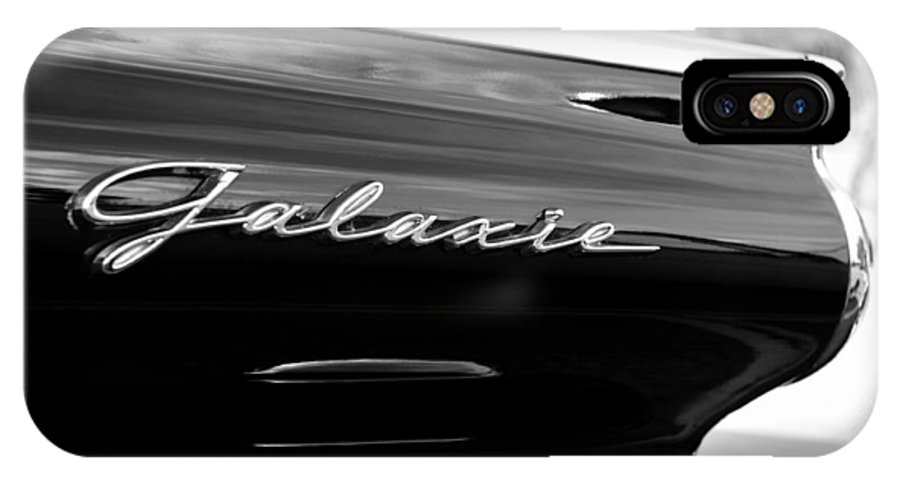 Fine Art Photography IPhone X Case featuring the photograph Ford Galaxie by David Lee Thompson