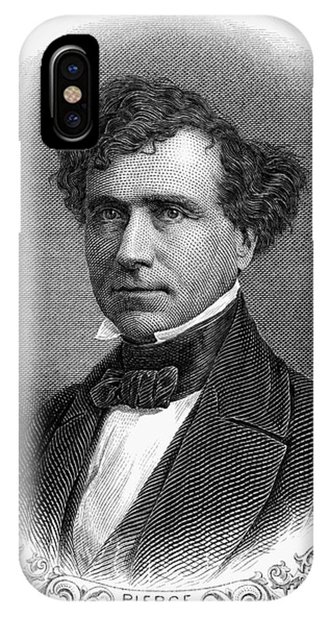 19th Century IPhone X Case featuring the photograph Franklin Pierce (1804-1869) by Granger
