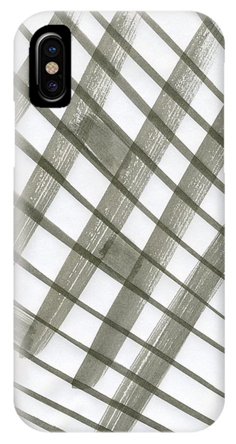 Freedom Square IPhone X Case featuring the painting Freedom Square by Taylor Webb