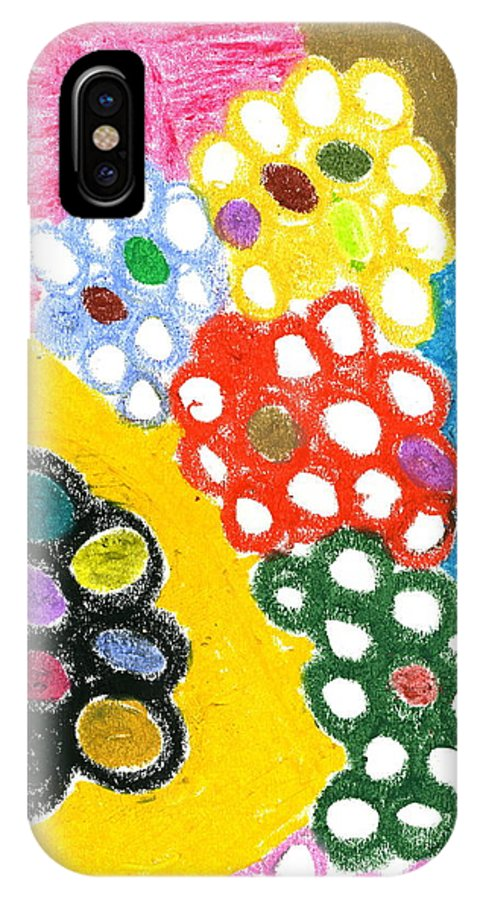 Fruits Of Labor IPhone X Case featuring the painting Fruits Of Labor by Taylor Webb