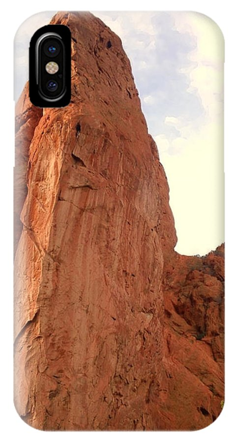 Garden Of The Gods IPhone X Case featuring the photograph Garden Of The Gods 2 by Usha Shantharam