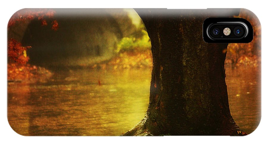 Autumn Landscape IPhone X Case featuring the photograph Gateway To Fantasy Land by Nishanth Gopinathan