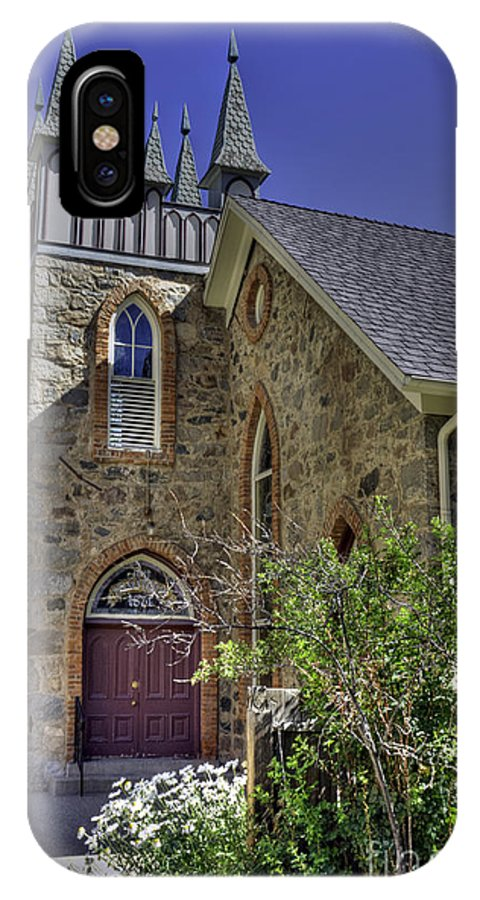 Church IPhone X Case featuring the photograph Georgetown Church by David Bearden