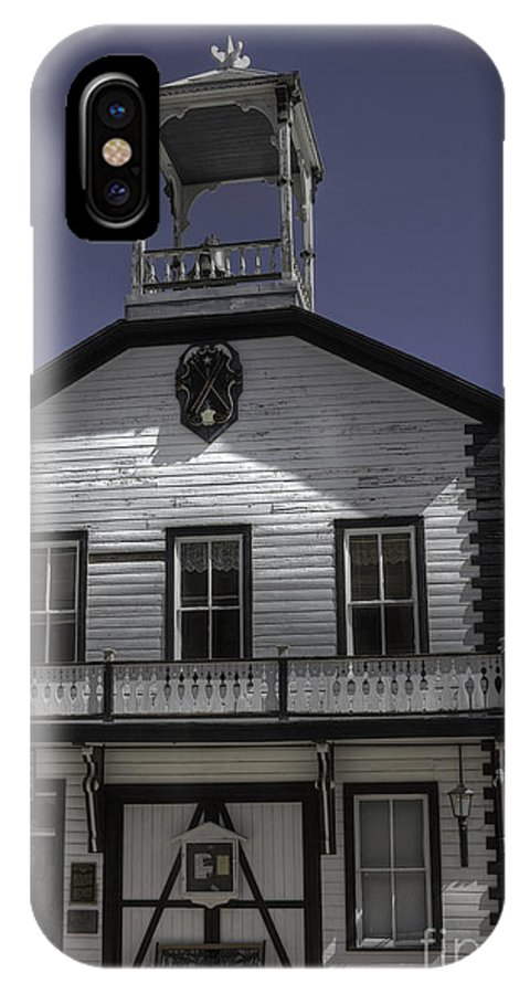 Georgetown Colorado IPhone X Case featuring the photograph Georgetown City Hall by David Bearden