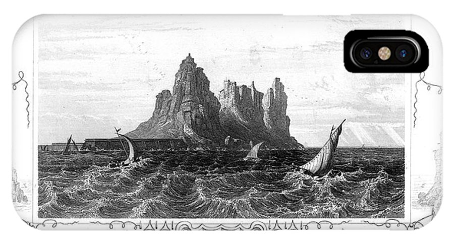 19th Century IPhone X Case featuring the photograph Gibraltar, 19th Century by Granger