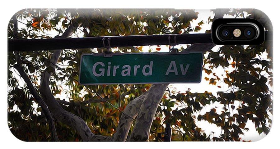 Girard Avenue In Philadelphia IPhone X Case featuring the photograph Girard Avenue In Philadelphia by Bill Cannon