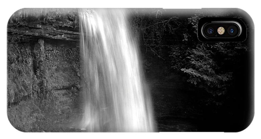 Glencar Waterfall IPhone X Case featuring the photograph Glencar Waterfall by Martina Fagan