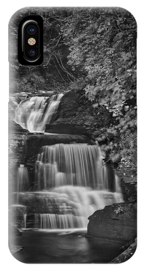 Treman IPhone X Case featuring the photograph Go With The Flow by Evelina Kremsdorf