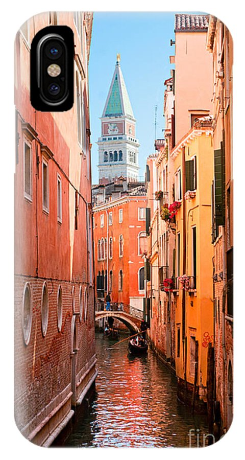Adriatic IPhone X Case featuring the photograph Grand Canal - Venice by Luciano Mortula