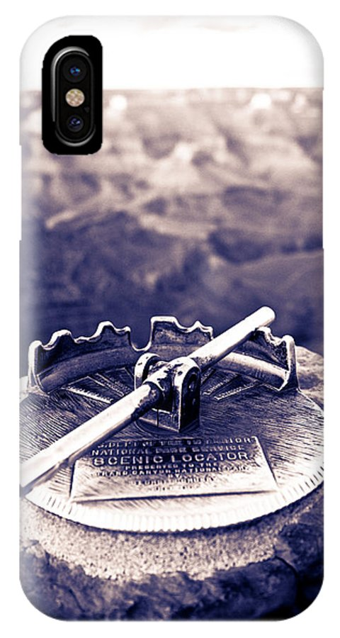Grand Canyon IPhone X Case featuring the photograph Grand Canyon - Sight Tube by Scott Sawyer