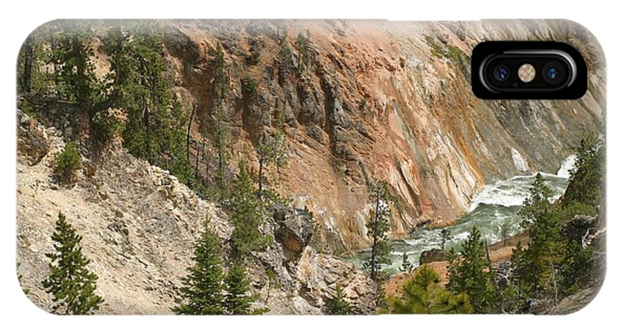 Grand Canyon IPhone X Case featuring the photograph Grand Canyon And Yellowstone River by Living Color Photography Lorraine Lynch