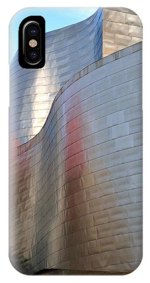 Guggenheim IPhone X / XS Case featuring the photograph Guggenheim Museum Bilbao - 2 by RicardMN Photography