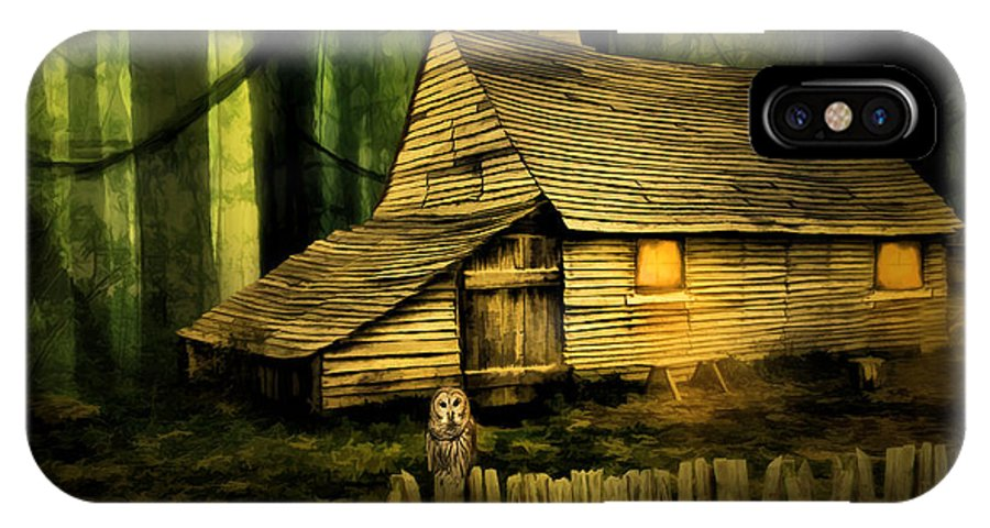 Haunted Shack IPhone X Case For Sale By Lourry Legarde