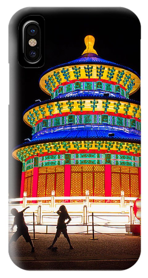 Art IPhone X / XS Case featuring the photograph Heavenly Temple by Semmick Photo