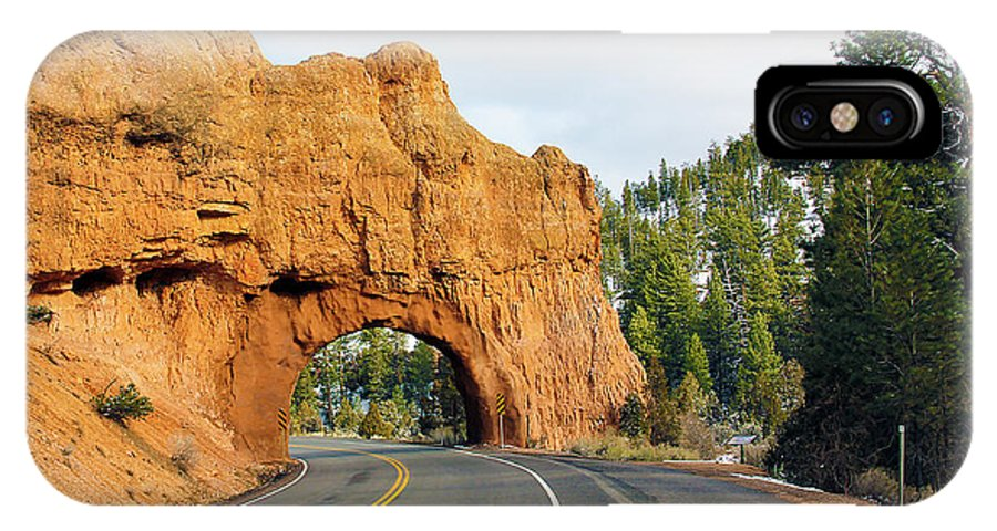 Highway 12 IPhone X Case featuring the photograph Highway 12 In Utah by Jack Schultz