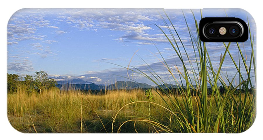 Asia IPhone X / XS Case featuring the photograph Hills Loom In The Distance by Steve Winter