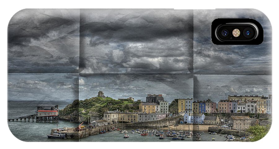 Tenby Harbour IPhone X Case featuring the photograph Holiday Memories by Steve Purnell