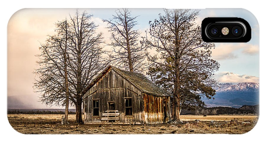Weed California IPhone X Case featuring the photograph Homestead by Randy Wood