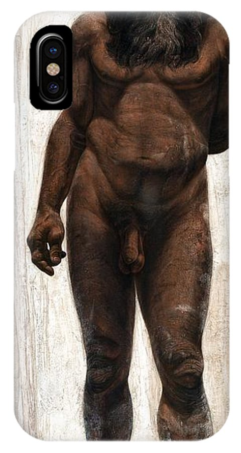 Homo Heidelbergensis IPhone X / XS Case featuring the photograph Homo Heidelbergensis by Kennis And Kennismsf