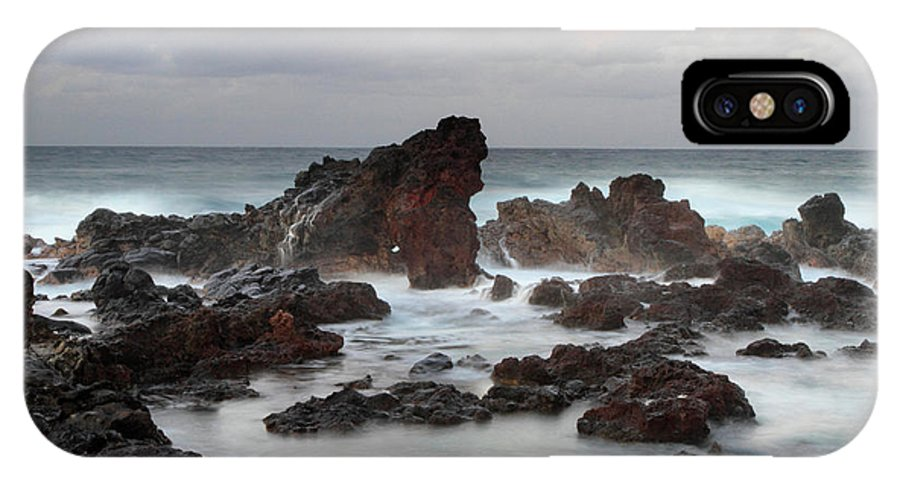 Hookipa IPhone X / XS Case featuring the photograph Hookipa Landscape by Pierre Leclerc Photography