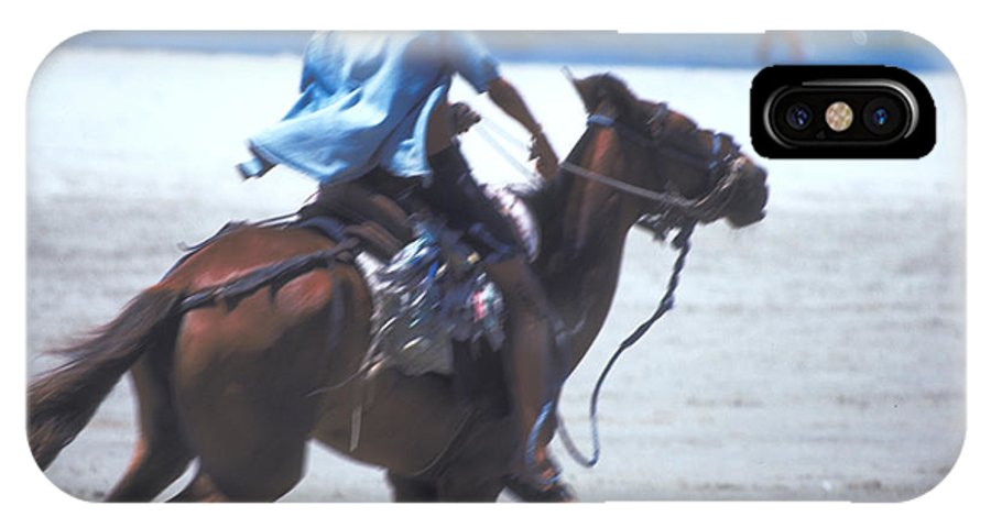 Horse IPhone X Case featuring the photograph Horse Race In Brazil by Carl Purcell