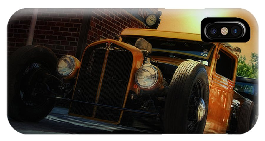 Hot Rod IPhone X Case featuring the photograph Hot Roddin' by Joel Witmeyer