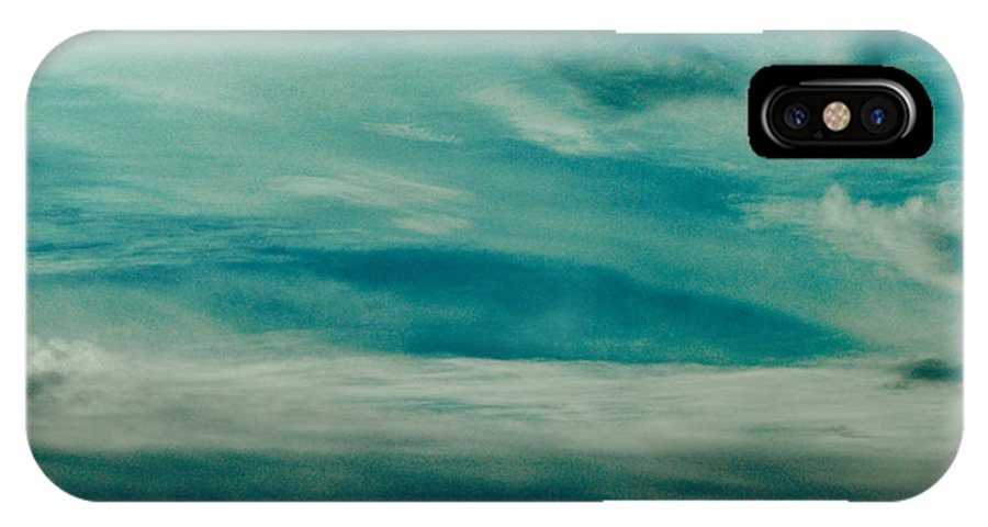 Iceland IPhone X / XS Case featuring the photograph Icelandic Sky by Michael Canning
