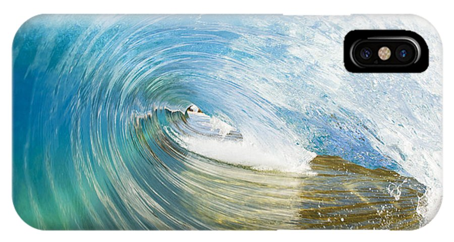 Amazing IPhone X Case featuring the photograph In The Tunnel by MakenaStockMedia